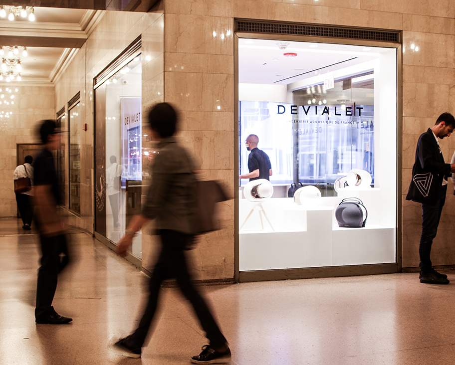 Devialet story New York Grand Central