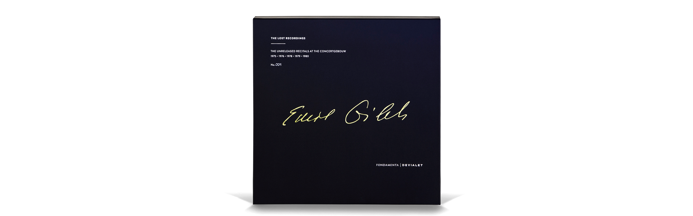 Devialet - The Lost Recordings - Emil Gilels - 1