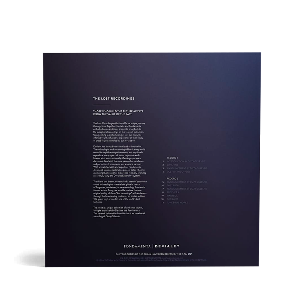 Devialet - The Lost Recordings - Dizzy - 2